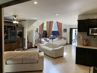 Very private single-family home on the beach newly remodel with open floor plan