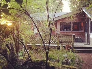 San Juan Island Cabin with View of Sunsets Over Westcott Bay