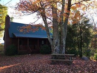 Black Dog Lodge*Hot Tub*Fireplace*Pet Friendly*Amazing Views* Sleeps 6*