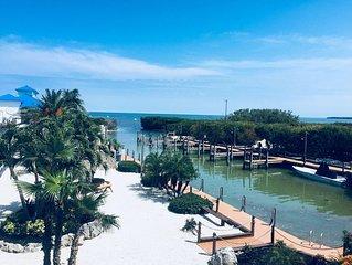 Oceanfront resort condo beautifully renovated.  Ocean & Marina views Free WI-FI