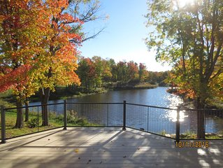 Blueberry Pond - Large Home on 140 acres: Upstate NY, Salmon River, Lake Ontario