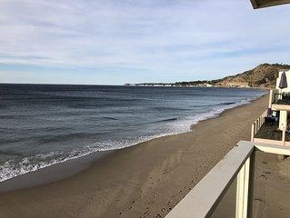 Sunset Malibu Road Premium Ocean Front Penthouse