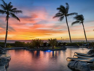 Hali'i Kai 'Wish-We-Were-Here!! Oceanfront Golf resort, Beach Gear  & Bikes
