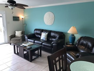 SaltCay A/ Family Friendly! Close to beach, Great Fishing! Canal Waterfront/Wifi