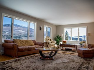 Large Stowe Hollow home - stunning views, peaceful, perfect for 2 families.