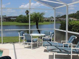 Magic Lake Villa II, 4 bedroom pool home in Eagle Pointe, Kissimmee, FL