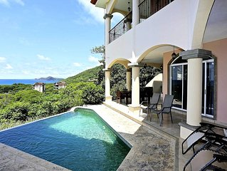 Beautiful Villa w/Ocean View from Every Room.  Walk to Beach, restaurant or bar.