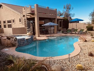 AMAZING Backyard View! Luxury home Las Sendas Gated Golf Resort, Pool/Hot Tub!