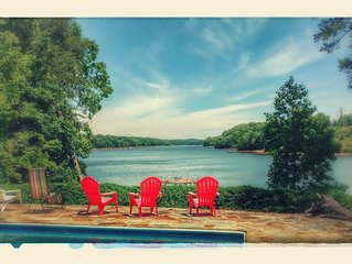 Pool and Boat dock  Incredible View! . Pontoon boat available