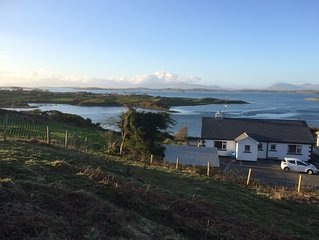 Wild Atlantic Way - Detached Cottage with  Stunning Sea Views of Clew Bay