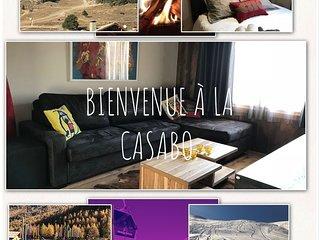 Appartement Casa Bo luxe 6/8/10  Pieds des pistes, piscine, Montgenèvre,ski,Golf