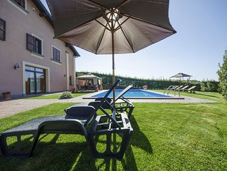 VILLA GILDA in Bracciano (3 rooms+1 suite) 200 sq mt, exclusive Pool (5/11 p)