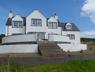 Luxury Cottage in a Scottish Coastal location with view over rolling countryside