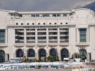 Residence la plus prestigieuse de Nice (Palais de la Mediterranee) Centre, Mer