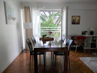 Biarritz cosy appartement 70M2, plage et commerces à pied WIFI gratuit