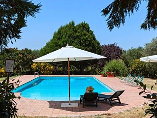 Gorgeous villa with private pool near Rome surrounded by 30 ha property