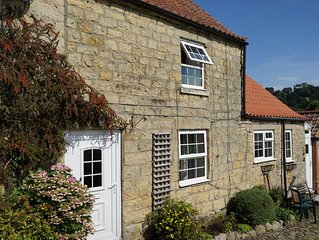 Jasmine Cottage is in the centre of the historic village of Kilburn, North Yorks