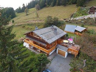 4* 300m2 Jacuzzi, Wifi, Panorama magnifique, Haute Qualite Environnementale