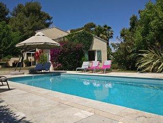 Maison individuelle 5* dans quartier recherché avec piscine chauffée