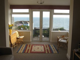 Comfortable cottage with stunning sea view in Ventnor, Isle of Wight