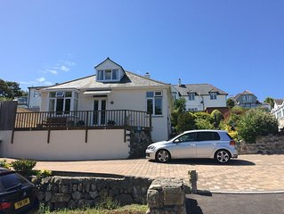 Prime seaside location, wonderful private gardens and stunning sea views