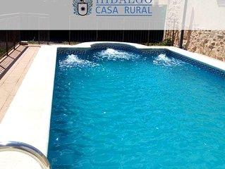 Casa Rural Hidalgo para 18 personas