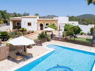 Villa Can Juano con piscina y Jardin