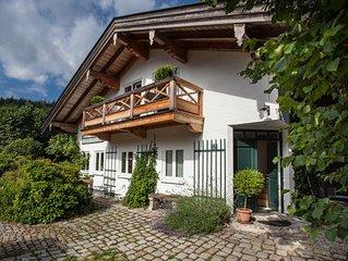 Liebevoll eingerichtete Ferienwohnung zwischen Rottach-Egern und Kreuth, 72 m2