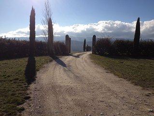Grande Bastide pour 15+4 dans le Luberon, Vue Magnifique, Piscine chauffée