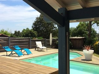 Villa avec piscine au centre de SOORTS-HOSSEGOR