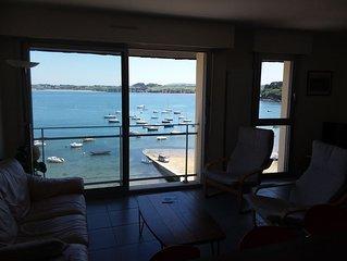 Appartement 2 chambres, moderne, incroyable vue sur mer et vieux port