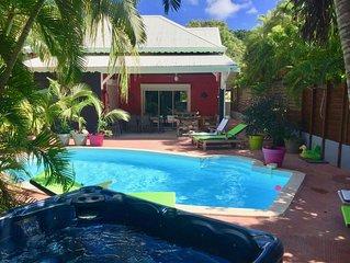 Villa, avec piscine et spa, vue sur mer, 6  personnes, 4 chambres
