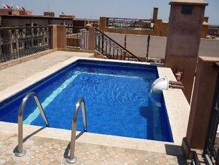 Appartement avec piscine sur le toit, transfert gratuit