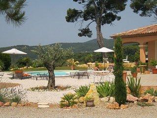 Villa Néo-provençale avec vue panoramique entre mer, lac et gorges du verdon