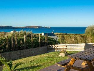 Maison vue mer, plage à pied, wifi gratuit