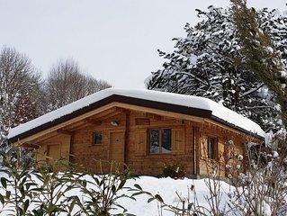 Chalet individuel avec terrasse et jardin privé proximité Lac d'Annecy