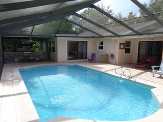 Lutz Cottage - Pool / Beaches / Busch Gardens / Disney / USF / Pets