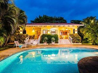 Pedacito De Cielo, a Beachfront slice of heaven!