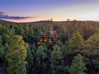 Featured on HGTV's Log Cabin Living! *6Bed/5bath*Backs to 10+ Acres Forest Land
