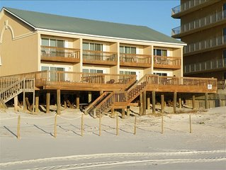 Beachfront Townhouse-Pet Friendly!!! Direct Beach Access!