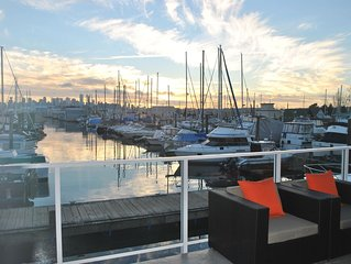 Waterfront, City View,  Modern Float Home