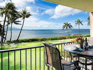 Fantastic Direct Oceanfront Views– Sleeps 4