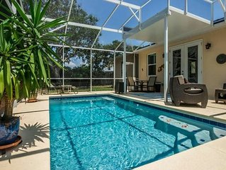 New Beach Side Home with Solar Heated Pool Steps to Beach