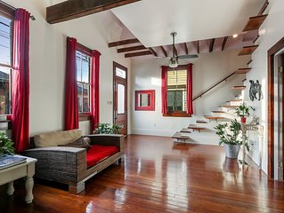 Elegant Historical Home, Bywater Next to Marigny