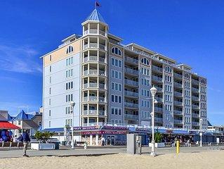 Belmont Towers Luxury Boardwalk Condo Great Ocean Views  Pool & Parking