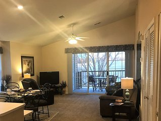 Spacious  (1343 s.f.) Holiday Hills Condo, 2BR/2BA, Branson Landing, Indoor Pool
