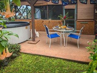 Charming Tropical Hideaway, Best Snorkeling,  Pool, Hot Tub