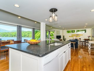 ❤️❤️ ❤️❤️Lakefront spacious renovated home with stunning views in a quiet cove