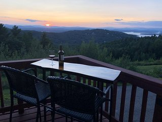 Breathtaking Views of Gunstock and Lake Winnpesaukee from every room