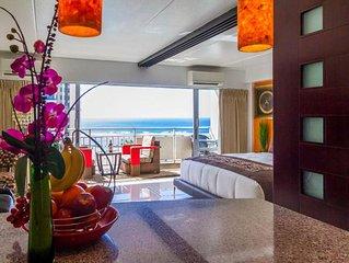 Ilikai Posh*&*Lavish = 2 Adjoining Suites =  Direct Ocean View = Beach Front
